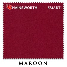 Сукно Hainsworth Smart Snooker 195см Maroon