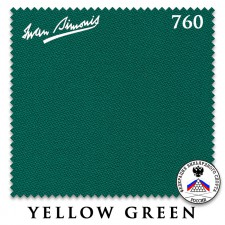 Сукно Iwan Simonis 760 195см Yellow Green