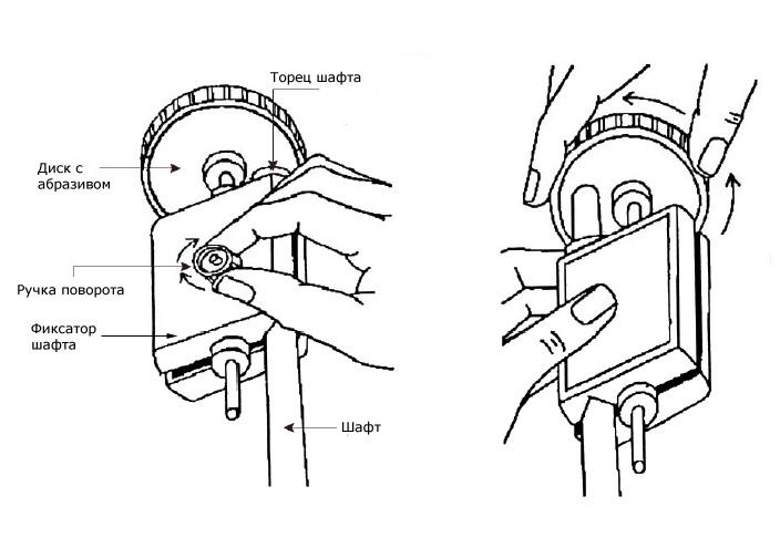 Обработка торца шафта станком Norditalia Jolly Cue